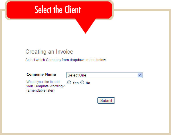 Creating An Online Invoice Online Invoicing System - Online invoice system